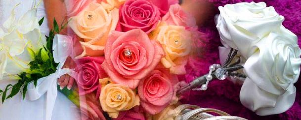 As novas tendências para bouquets de noiva!