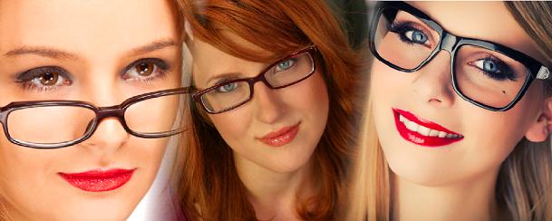 A maquilhagem certa para quem usa óculos!