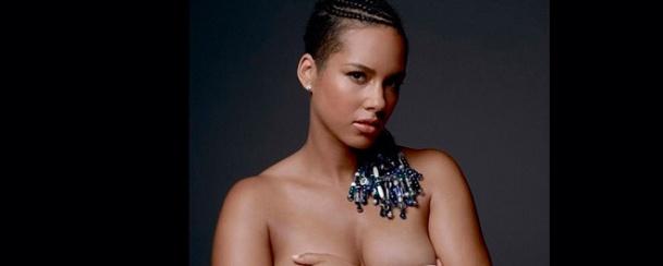 Alicia Keys Grávida, despe-se por uma boa causa!