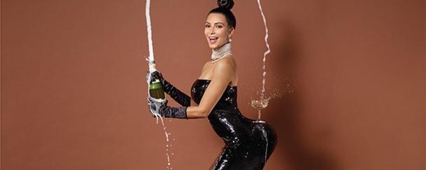 As fotos polémicas de Kim Kardashian nua!